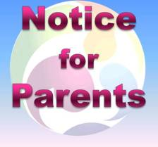 Notice for Parents